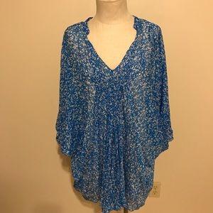 NWT Diane von Furstenberg caftan fleurette Dress